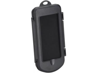 Smartphonehalter mit Spritzschutzbox für Rollatoren, Rollstühle und Scooter