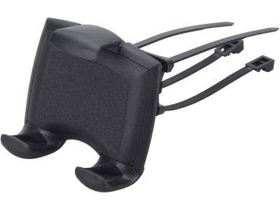 Smartphonehalter mit Kabelbinderbefestigung für Rollatoren, Rollstühle und Scooter
