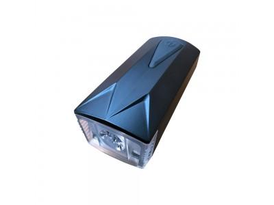 Frontlicht schwarz für Rollatoren und Rollstühle